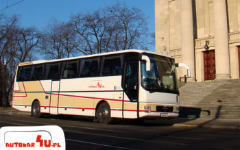 Autokar MAN A03 przed Operą w Poznaniu