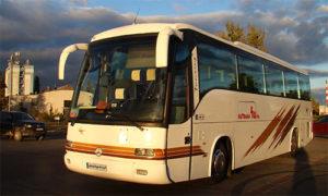 Mercedes Noge Touring - 56 miejsc, wydajna klimatyzacja, pasy bezpieczeństwa