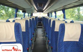Mercedes Noge Touring i jego wygodne fotele