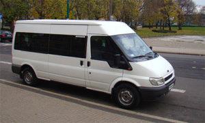 Autobus Ford Transit z klimą