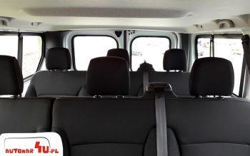 Komfortowe fotele w naszym busie