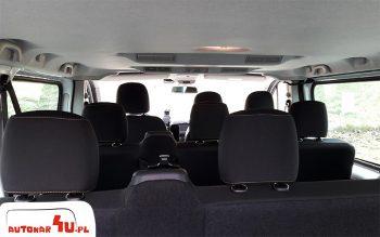 Osobne nawiewy dla 8 pasażerów
