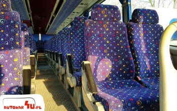Volvo Andecar i jego wygodne fotele